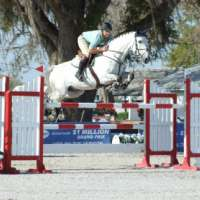 Alex Granato and Futi's Calypso W place 8th in $25,000 AT Children's Benefit Grand Prix